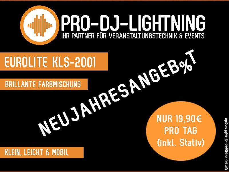 Pro-Dj-Lightning Neujahresangebot Eurolite KLS