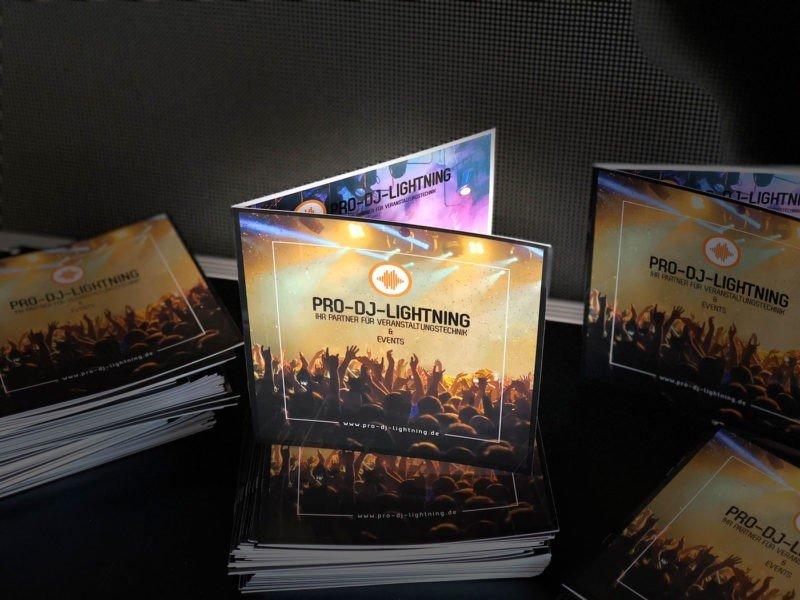 Firmen Booklet von Pro-Dj-Lightning Veranstaltungstechnik