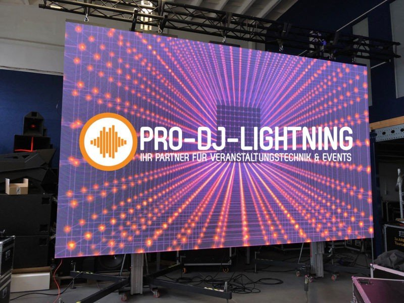 LED Videowand outdoor indoor mieten bei Pro-Dj-Lightning Veranstaltungstechnik