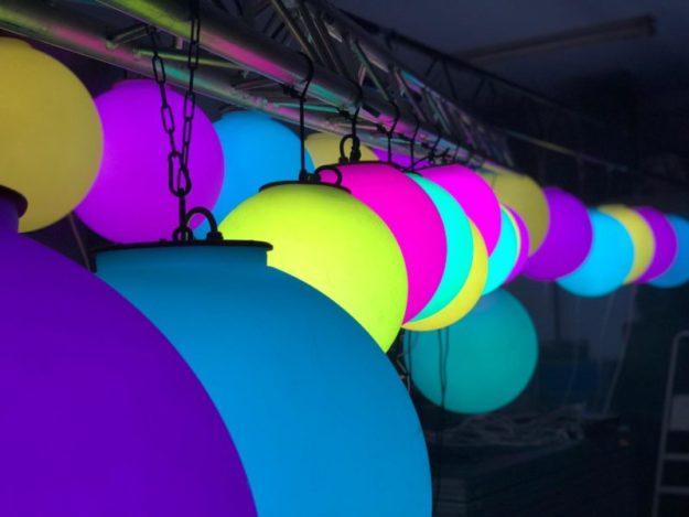 Lichhtechnik Eurolite LED Ball mieten